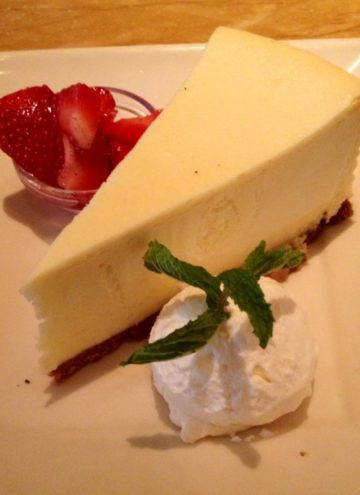 The Cheesecake Factory – Low Carb Cheesecake