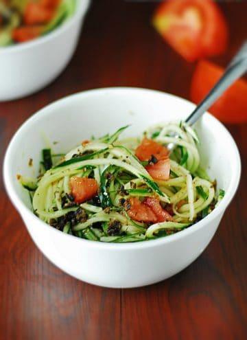 Cucumber Pasta Salad – Low Carb
