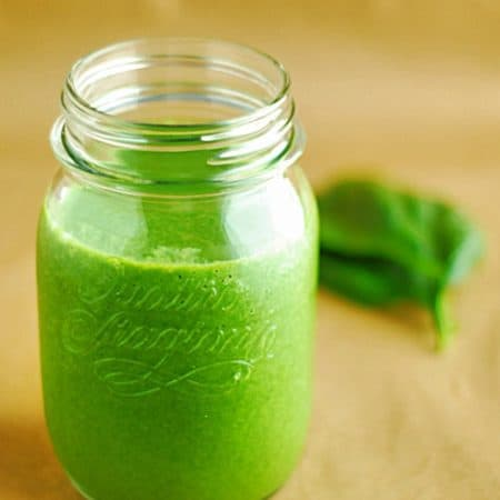 Low Carb Green Smoothie - Quick, easy and fresh smoothie filled with tons of nutrients and protein.