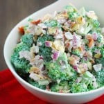 Low Carb Broccoli Salad
