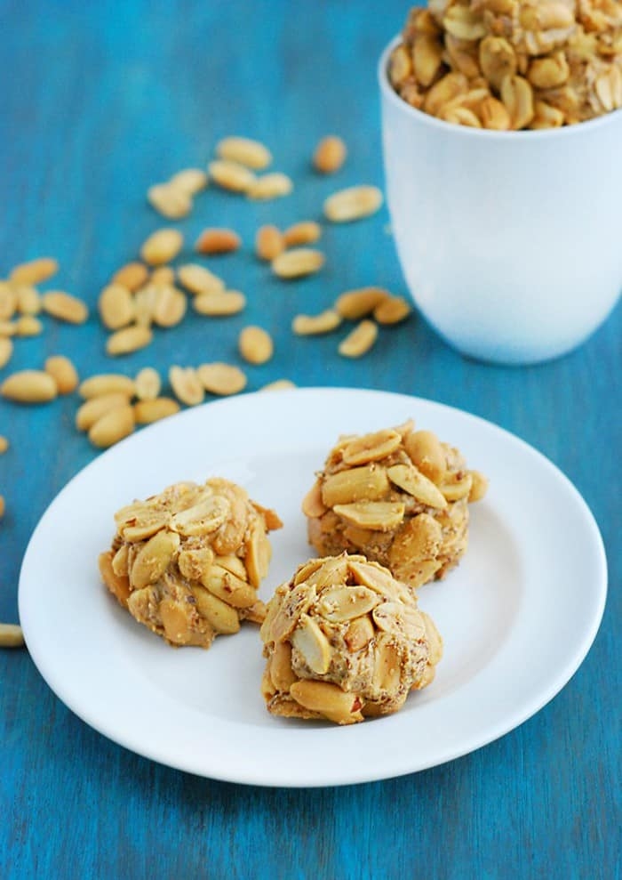 Peanut Butter Balls - breakfast, snack, or dessert. You choose!