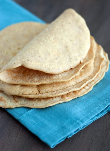 Low Carb Tortilla Recipe