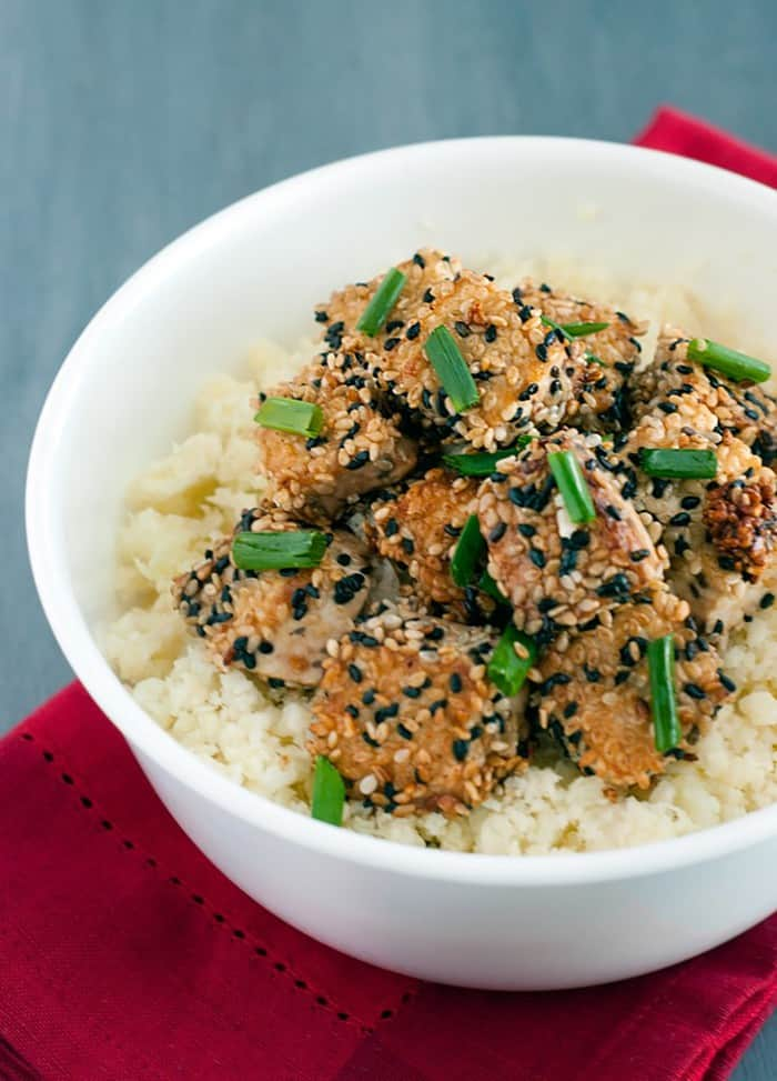 Sesame Crusted Tofu - The BEST tofu you'll ever have, even non tofu haters will love this!