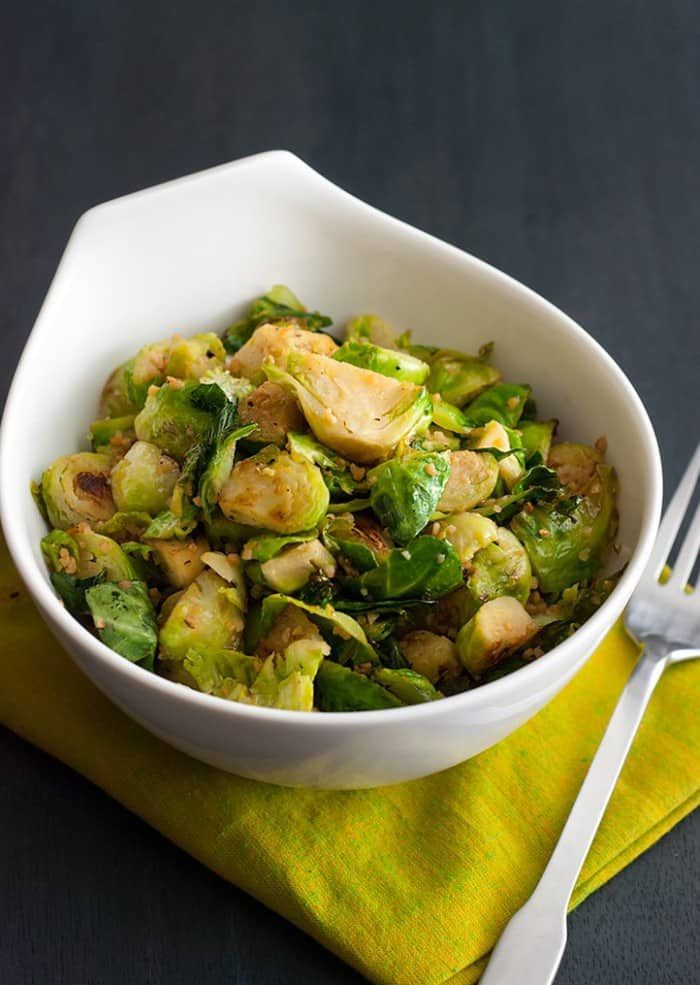 Even the pickiest eaters can love these Italian Vinegar Brussels Sprouts!