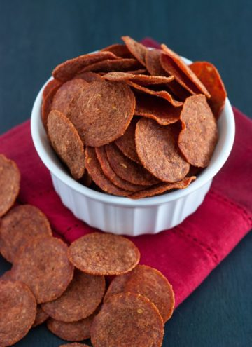 The Best Pepperoni Chips
