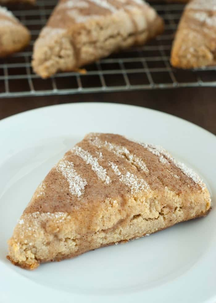 Cinnamon Scones Recipe - Best scones I've ever had yet! If you snickerdoodle cookies this is a must try!