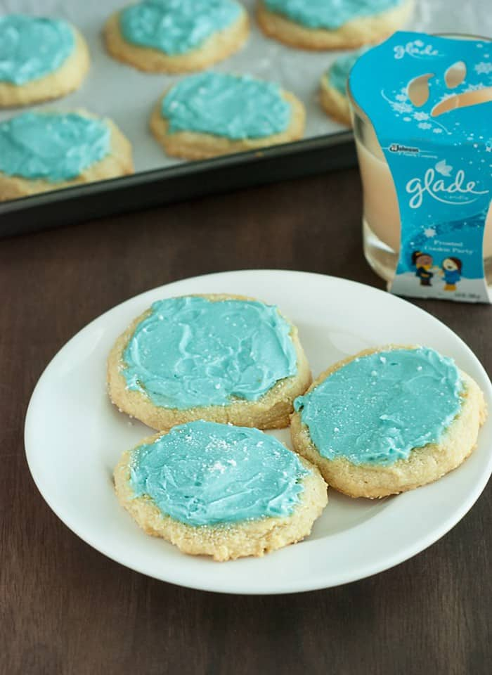 Frosted Cookies - they have never been so simple and tasty. They're also surprisingly grain free and gluten free!