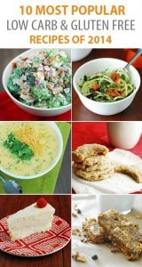 10 Most Popular Low Carb Recipes of 2014