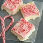 Peppermint Cheesecake Bars