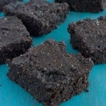 Low Carb Brownies - chocolaty goodness with a healthy twist.
