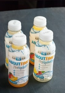 About Time's Hydrating Protein Drink