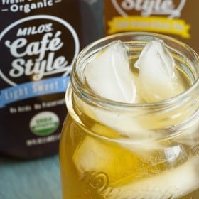 Milo's Cafe Style Tea - A cool & refreshing choice to when relaxing in the Summer sun.