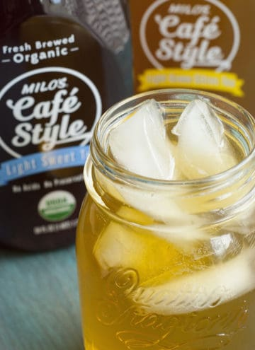 Cool & Refreshing – Milo's Cafe Style Tea