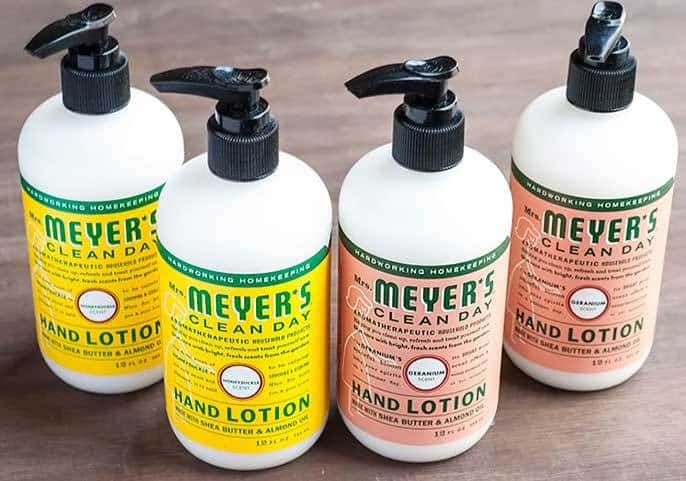 Some of my personal Mrs. Meyer's products that are sure to win you and your hands over. Read more to find out for yourself!