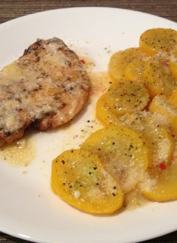 Low Carb Italian Grilled Chicken & Squash
