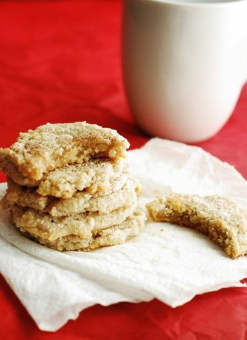 Low Carb Snickerdoodle Cookies