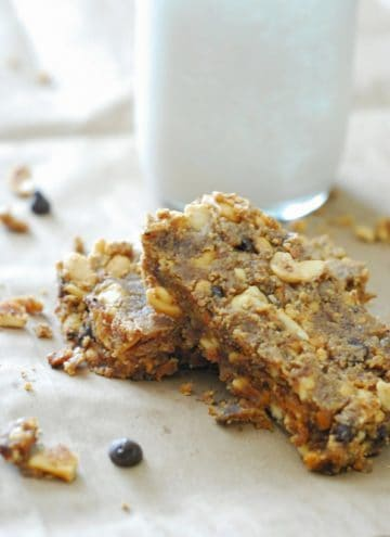 Low Carb Peanut Butter Breakfast Bars