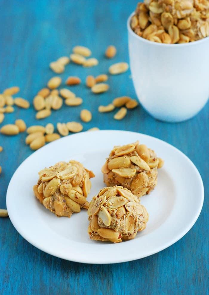 Peanut Butter Balls - breakfast, snack, or dessert. You choose!