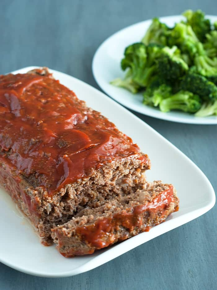 Low Carb Meatloaf - Melt in your mouth deliciousness with the same comfort flavors you know and love.