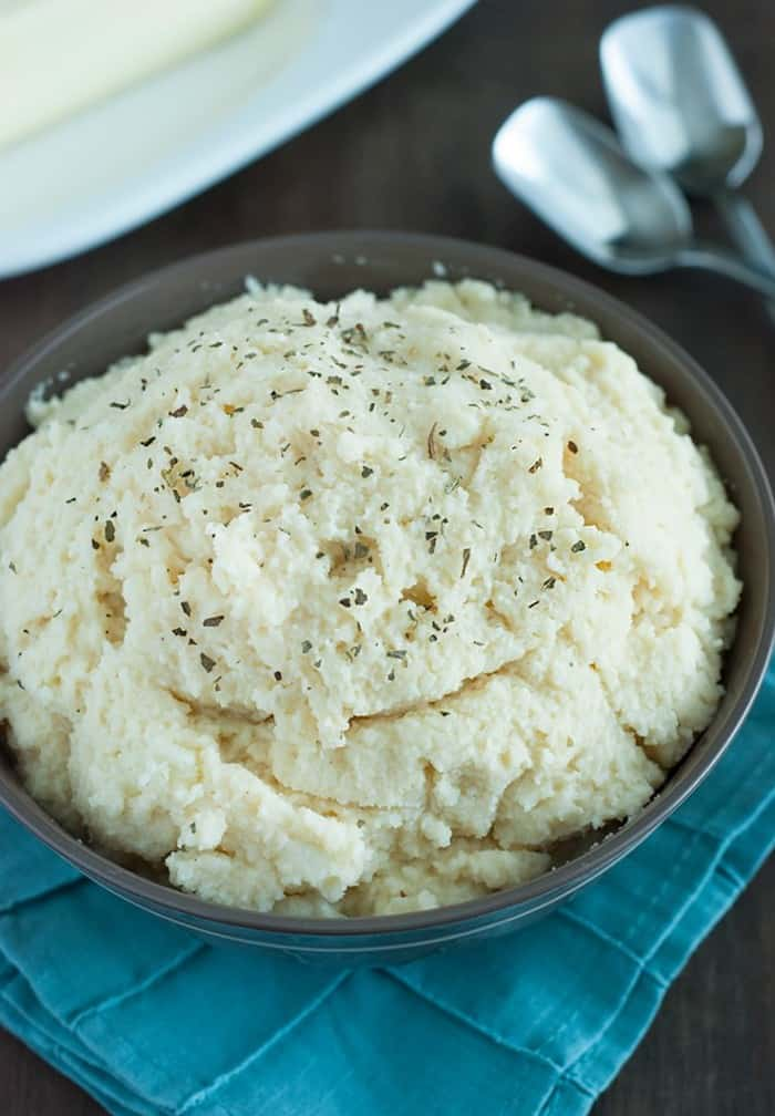 Low Carb Cauliflower Mashed Potatoes - After eating this I wondered why I ever ate regular mashed potatoes!