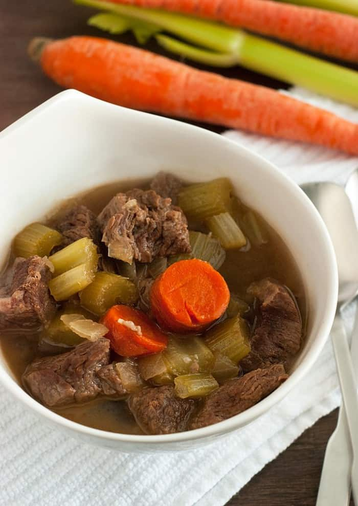 This Beef Stew is the ultimate comfort foods with its delicious flavors and aroma. Tastes even better the following day!